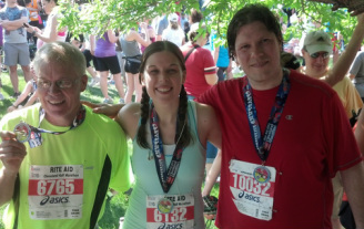 Friends of FitYaf - Mandy goes from a non-runner to a 2x half marathon finisher!