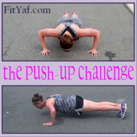 A Fitness Friday Survey - FitYaf Pushup Challenge