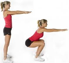 FitYaf's Fitness Friday Tabata Workout - squat