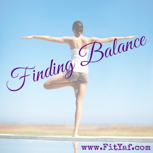 FitYaf answers, 1st edition - Finding Balance