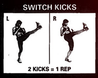 Switch kicks