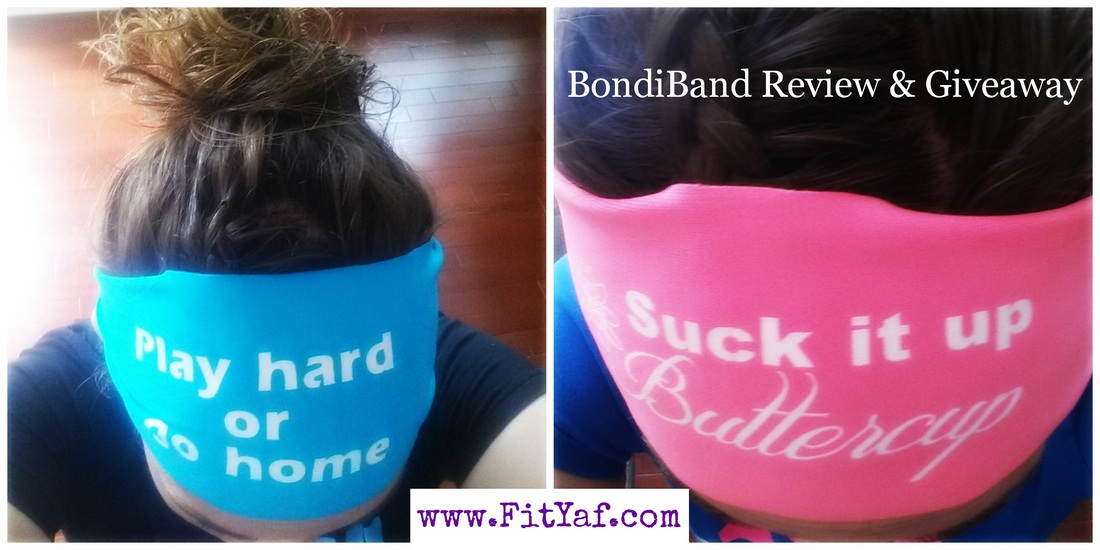 FitYaf's BondiBand Review and Giveaway