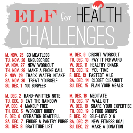 Fitness Friday Elf4Health Buddy Workout