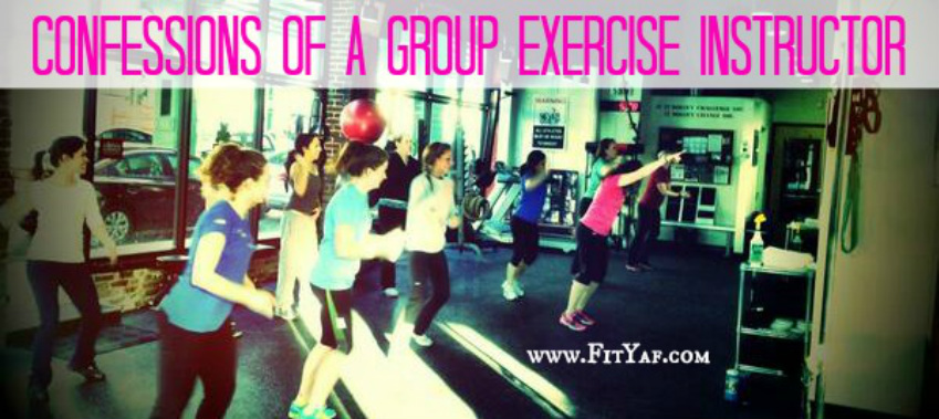 Confessions of a group exercise instructor