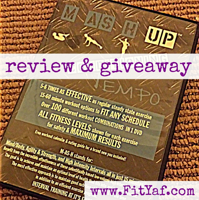 MASH Up Conditioning review and a giveaway!